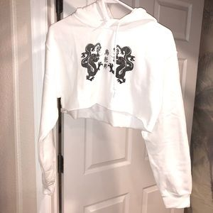 UOdragon cropped hoodie. make an offer, any offer!